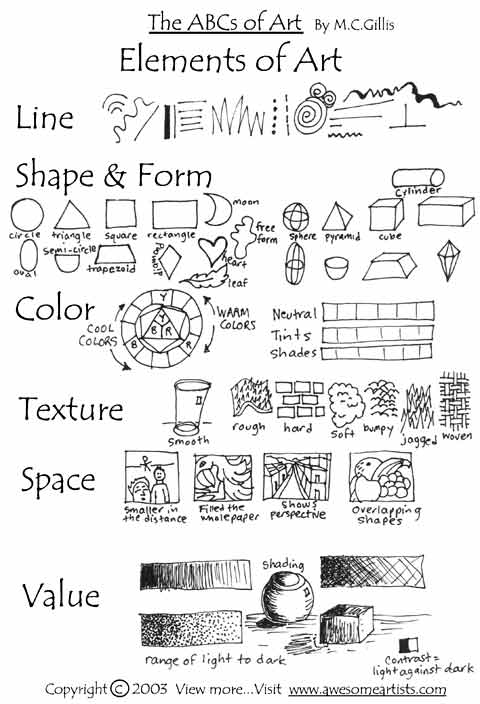 Printables Elements Of Art Worksheet elements of art worksheets abitlikethis an understanding design and aesthetics art
